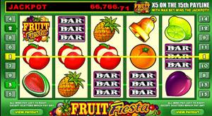 fruit fiesta spelautomat