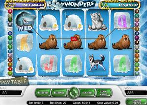 icy wonders spelautomat