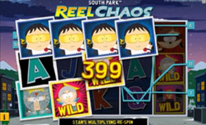 south park reel chaos spelautomat