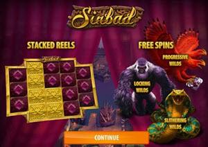Sinbad spelautomat