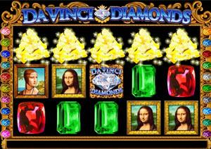 da vinci diamond spelautomats