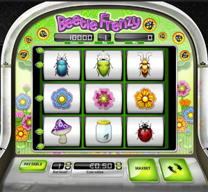 Beetle Frenzy free spins