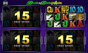 Break da Bank Again spelautomat