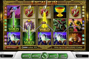 Excalibur spelautomat