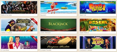 Luck Casino spel