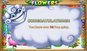 flowers spelautomat