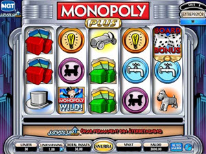 monopoly plus spelautomat