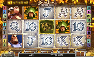 robin hood shifting riches netent