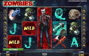 zombies spelautomat