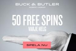 BuckButler free spins
