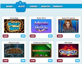 Grimms spelutbud casino