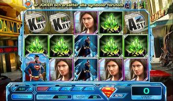 Superman the last son of Krypton slot