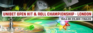 Unibet Hit and Roll kampanj