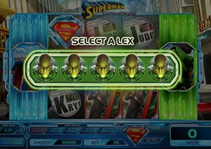 superman lex luthor frozen wild