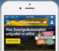 SverigeAutomaten iOS app