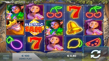 Electric Sam slot Casinoguide