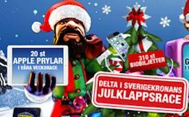 Sverigekronan julkalender Casinoguide