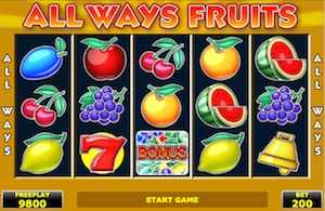 All Ways Fruits Amatic