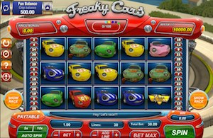Freaky Cars Games OS