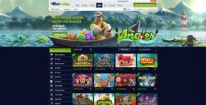 Odds, Poker och Casino online hos Betrally