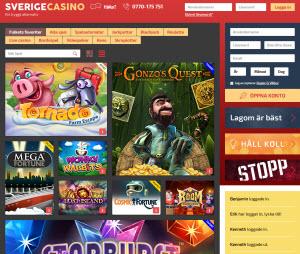 SverigeCasino.com - ett tryggt, svenskt casino