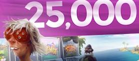 Casino Saga 25000 free spins