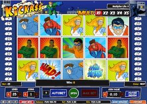 Kickass slot 1X2 Gaming