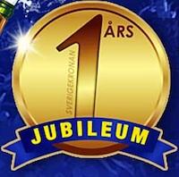 SverigeKronan jubileum