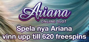 Ariana spins Paf casino