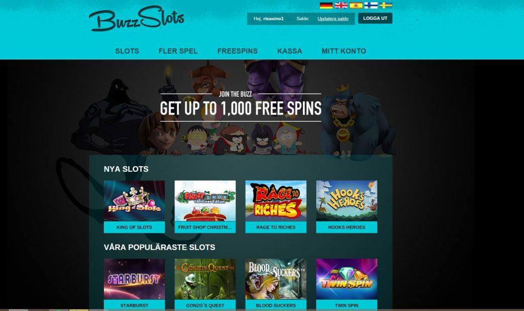 BuzzSlots casinoguide