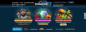 Spela på Diamond7 casino online