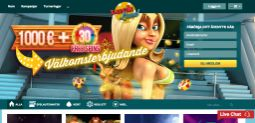 LuckLand - 10 000 kr + 130 free spins