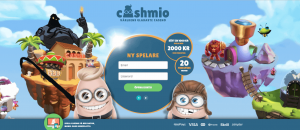 Cashmio Startsida