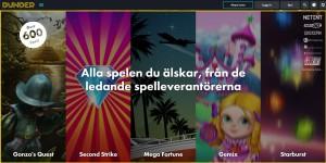 Lansering av nya casinot Dunder