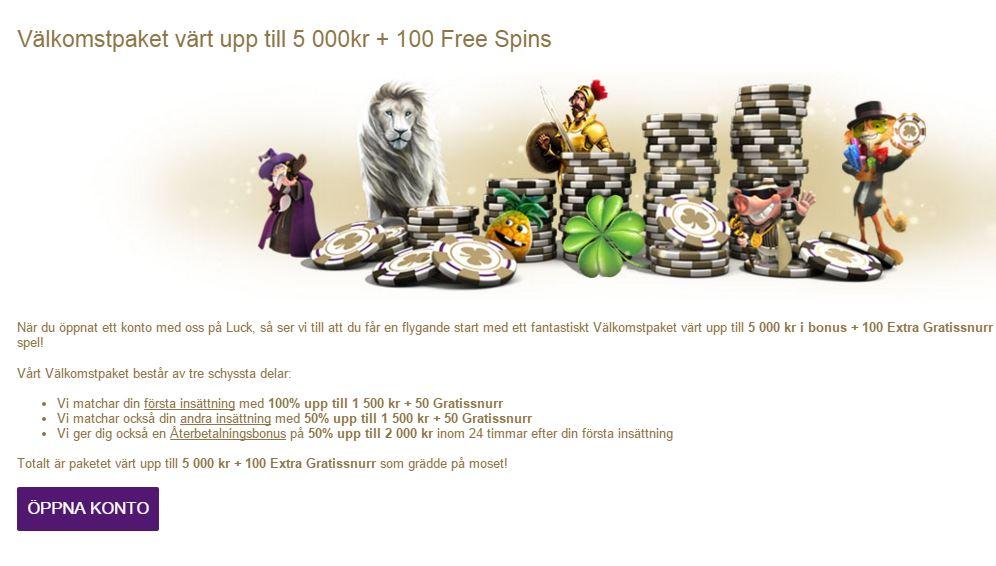 Luck bonus