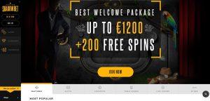 Spela med free spins hos ShadowBet