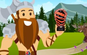 Scandibet bild på viking med pokal