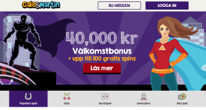 Galemartin startsida bonus