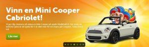 ComeOn Mini Cooper tävling