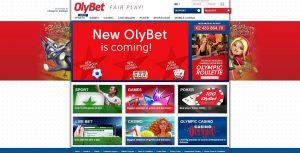 Spela på Olybet på casino eller sportsbetting online.
