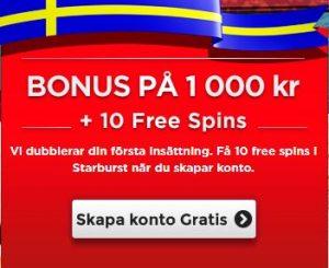 Spela med gratis free spins hos RoyalPanda idag