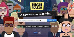 Spela på High Roller casino online