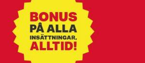 Spela med bonus på varje insättning hos Mobilautomaten