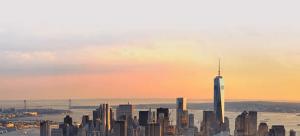 NYspins startsida vy av new york
