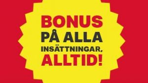 Mobilautomaten ger bonus på alla insättningar, alltid!