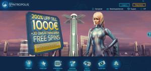 Spintropolis casino startsida