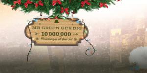 Mr Green julkalendern lucka 12 vinn på slots