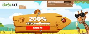 SlotsZoo startsida bonus