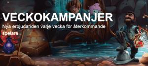 Sverigekronan veckokampanjer