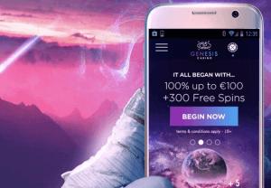 Genesis Casino bonus i mobilen